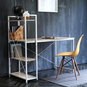베이직 H형 1200책상/컴퓨터책상/철재책상/책장