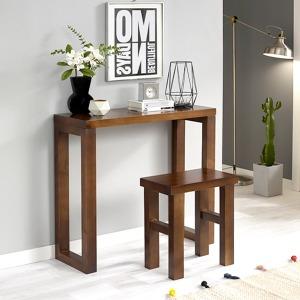 북유럽스타일 100%원목 로티콘솔/원목의자/원목테이블