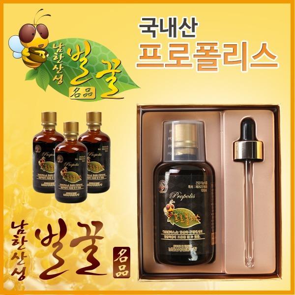 남한산성벌꿀농장 국내산 100% 프로폴리스(액상)100ml