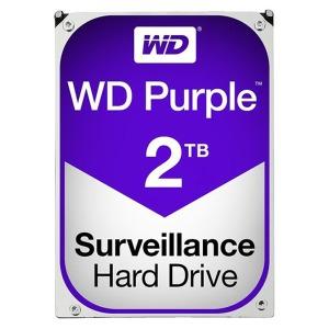 WD PURPLE WD20PURX 2TB 5400 64M CCTV DVR영상 필독