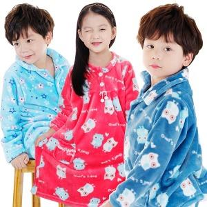 아동잠옷/겨울/가을/수면/밍크/원피스/바지/파자마