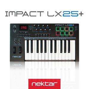 Nektar IMPACT LX25+ 넥타 임팩트 LX25+ 마스터키보드