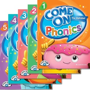 Come on Phonics 1.2.3.4.5 Student Book/ Workbook 세트 선택가능/컴온파닉스/능률교육
