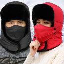포스 마스크 방한모자/털모자 귀달이 군모 겨울 낚시