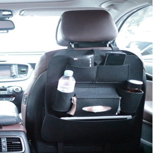 더나우 차량 다용도수납 뒷자석 컵홀더 보관함