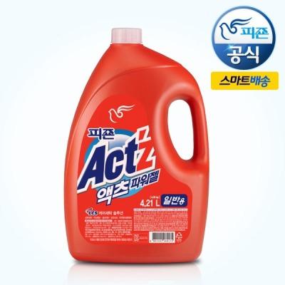 대용량 액츠 액체세제 4.21L(일반/드럼)/세탁세제