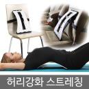 한양MSL 허리 스트레칭/운동/기구/척추/등/지압
