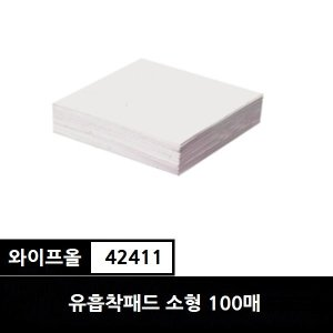 유한킴벌리 와이프올 유흡착제패드 소형 100매 42411