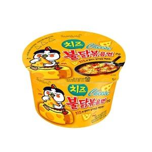 삼양 치즈 불닭볶음면 큰컵 105g 16개 /컵라면/라면