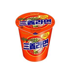 삼양라면 소컵 65g 삼양 미니 컵라면 작은컵