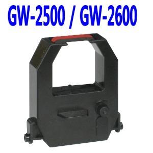 출퇴근기록기 리본 / GW-2500 GW-2600 잉크 카트리지