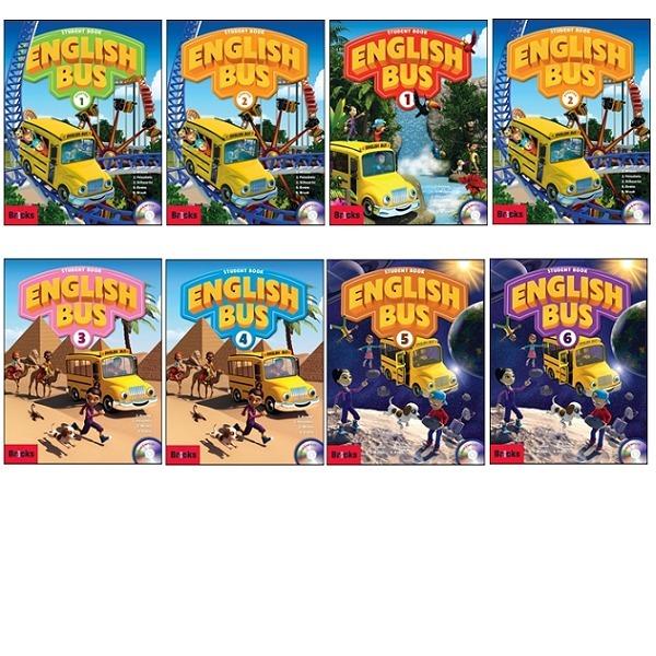 (Bricks) English Bus 시리즈(SB/ WB/ Home Audio CD) starter.1~6(선택) : 초등 영어 코스북