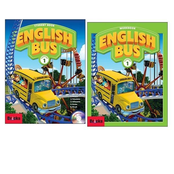 (Bricks) English Bus SB+WB 2종세트(starter.1~6) (선택) : 초등 영어 코스북