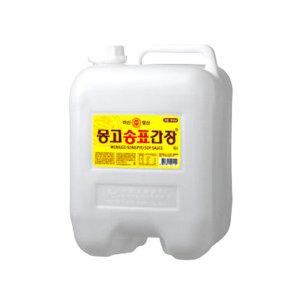 몽고 송표간장골드 13L / 대용량 몽고간장