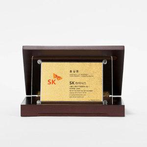 순금카드 명함상패 3.75g 소사이즈 감사패