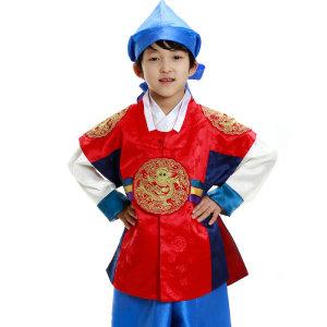 (현대백화점) 늘사랑 아동한복  용보 홍쾌자(77-2023 남아한복)
