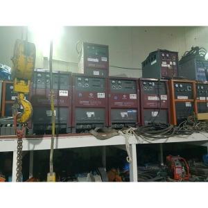 중고월드웰CO2아크용접기 LONGLUN 650TC싱글케이블30M