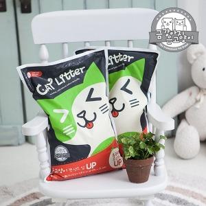 은고양이 캣샌드UP 5L x 1개 벤토나이트 고양이모래