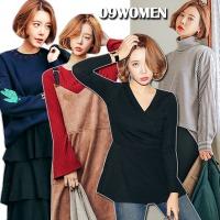 겨울 티셔츠 모음 폴라 맨투맨 기모 빅사이즈여성의류