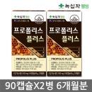녹십자 프로폴리스 90캡슐X2병_6개월분 플라보노이드