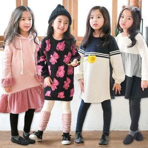 겨울신상 러블리 원피스 레깅스 아동복