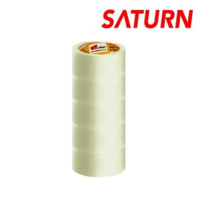SATURN OPP A50 40M 투명 박스테이프 5롤 포장/택배