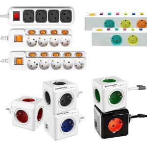 파워큐브 USB 멀티탭 콘센트 휴대용 멀티콘센트