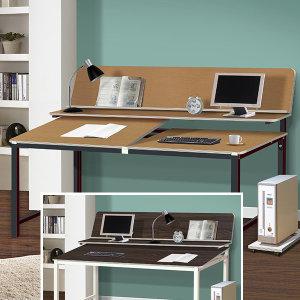 아이원각도조절 DIY 책상  학생용 사무용 1인2인용
