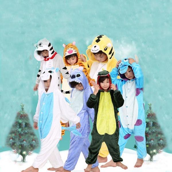 어린이할로윈코스프레캐릭터동물잠옷수면잠옷