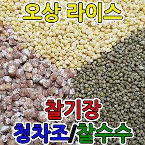오상라이스 중국 찰기장 청차조 찰수수 1kg 좁쌀 지정