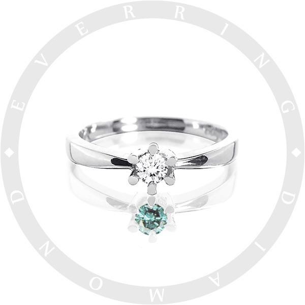 14K 18K 리얼 다이아몬드 반지 선물 프로포즈_RD21
