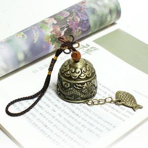 한국 문종 풍경 도어벨  차걸이 가방종 배낭종