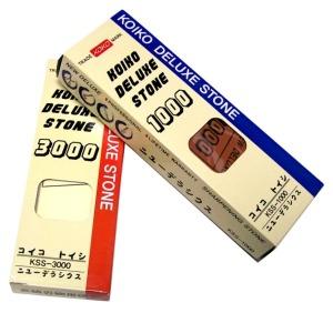 코이코 숫돌 1000방 3000방-칼 가위 낫 연마석 칼갈이