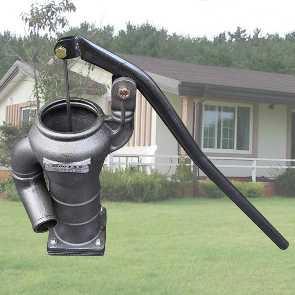직접 제작 옛날펌프/수동펌프/작두펌프/시골펌프/조경