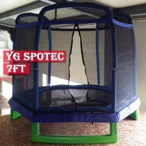 YG스포텍/트램폴린/안전망7ft(2.14m)방방/봉봉/150Kg