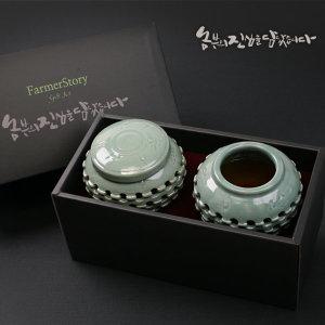 박균섭님의 청자도자기 양봉꿀 800g(2입)