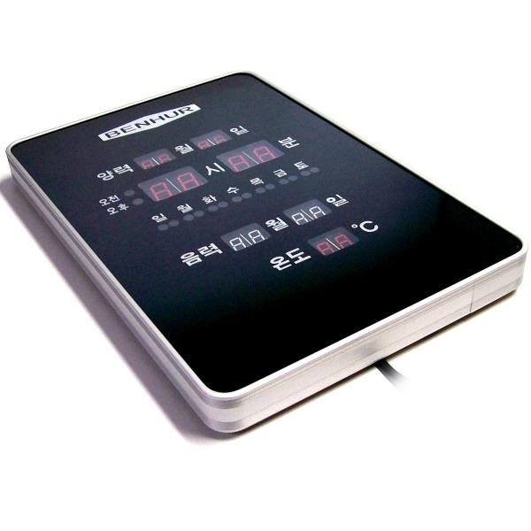세로형 디지탈 LED 시계 191-벽시계 전기 전자 시게