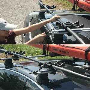 자동차 낚시대보관 낚시대거치대 폴대 스키거치대
