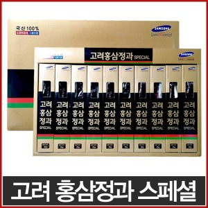 HL고려홍삼정과 스페셜 30g x 10개 선물세트/홍삼간식