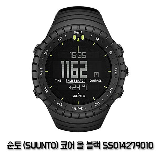순토(SUUNTO) 코어 올 블랙 블랙 맨즈 SS014279010