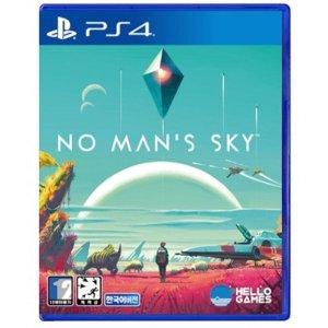 노 맨즈 스카이 (No Mans Sky) PS4 한글판 일반판.