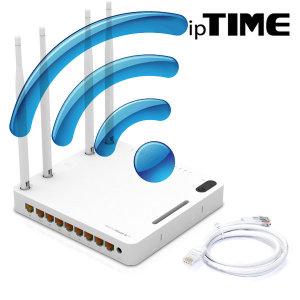 _ipTIME A2008 8포트/기가/무선/와이파이/공유기