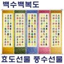 백수백복도/일월오봉도/풍수지리/인테리어/그림/족자