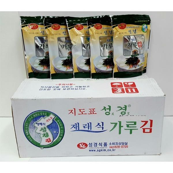 지도표재래식가루김/성경김가루1박스 (70gX20봉)