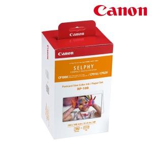 캐논 正品 RP-108 CP910/CP1200 전용 인화지 108매4x6