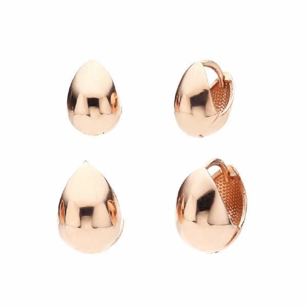 (현대Hmall) 도로시 14k 리얼 통통물방울 귀걸이(대)