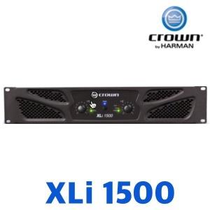 CROWN XLi1500/파워앰프 4옴 450w/8옴 330w/XLi 1500