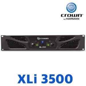 CROWN XLi3500 파워엠프 4옴1350w/8옴1000w/xli-3500