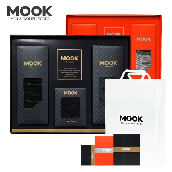 쇼핑백증정 무크 양말세트/추석선물세트/명절