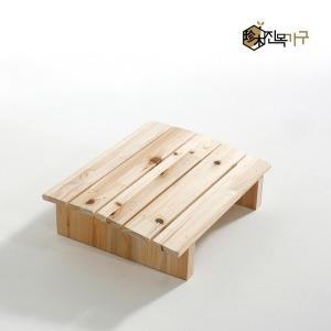진목가구 무료배송 원목발받침대/책상발판/의자
